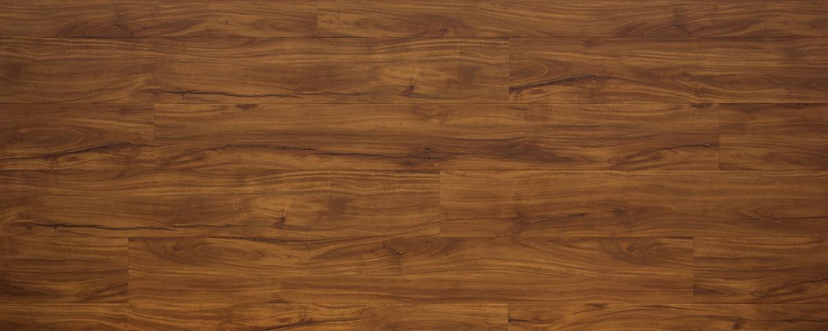 An assembled box of vinyl flooring